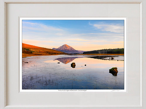 Shaun Egan Mount Errigal Reflection