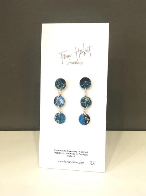 Fiona Herbst Triple Circle Earrings