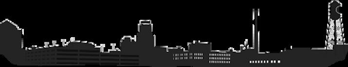 DURHAM CITY SCAPE TRANSPARANT