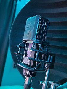 Studio Microphone at Tunes Recording Studio