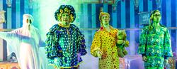 Steve Arnott, Reece Sibbald and Cal Halbert in Rapunzel