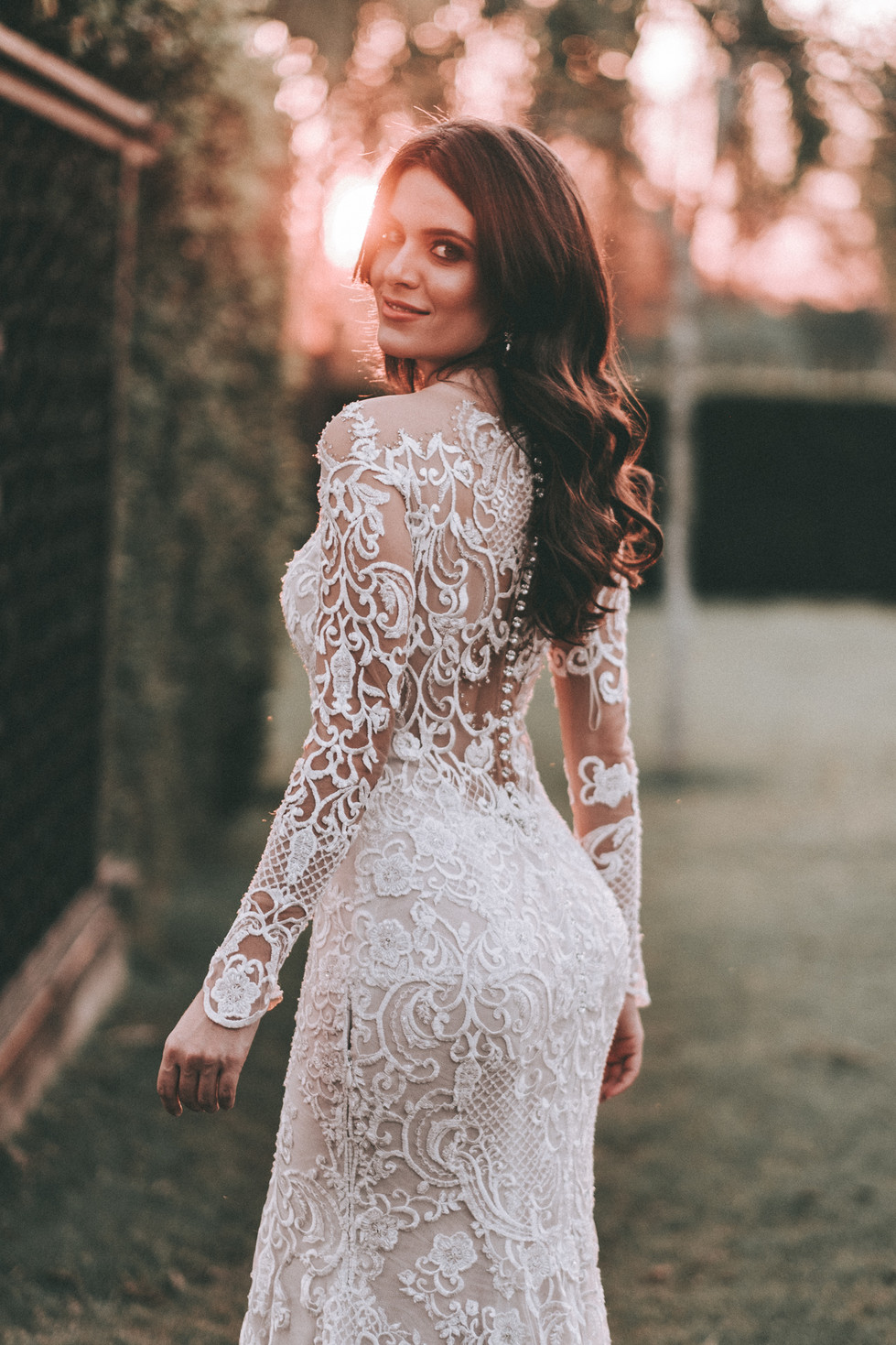vestido de noiva eliana zanini com manga