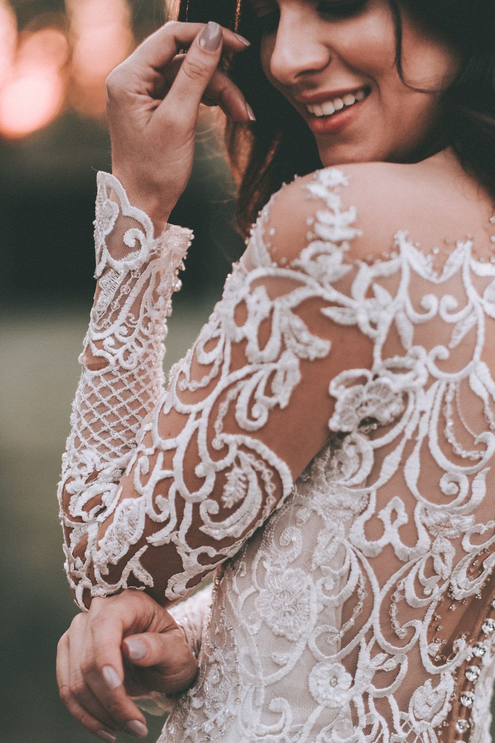 vestido de noiva com manga cumprida londrina