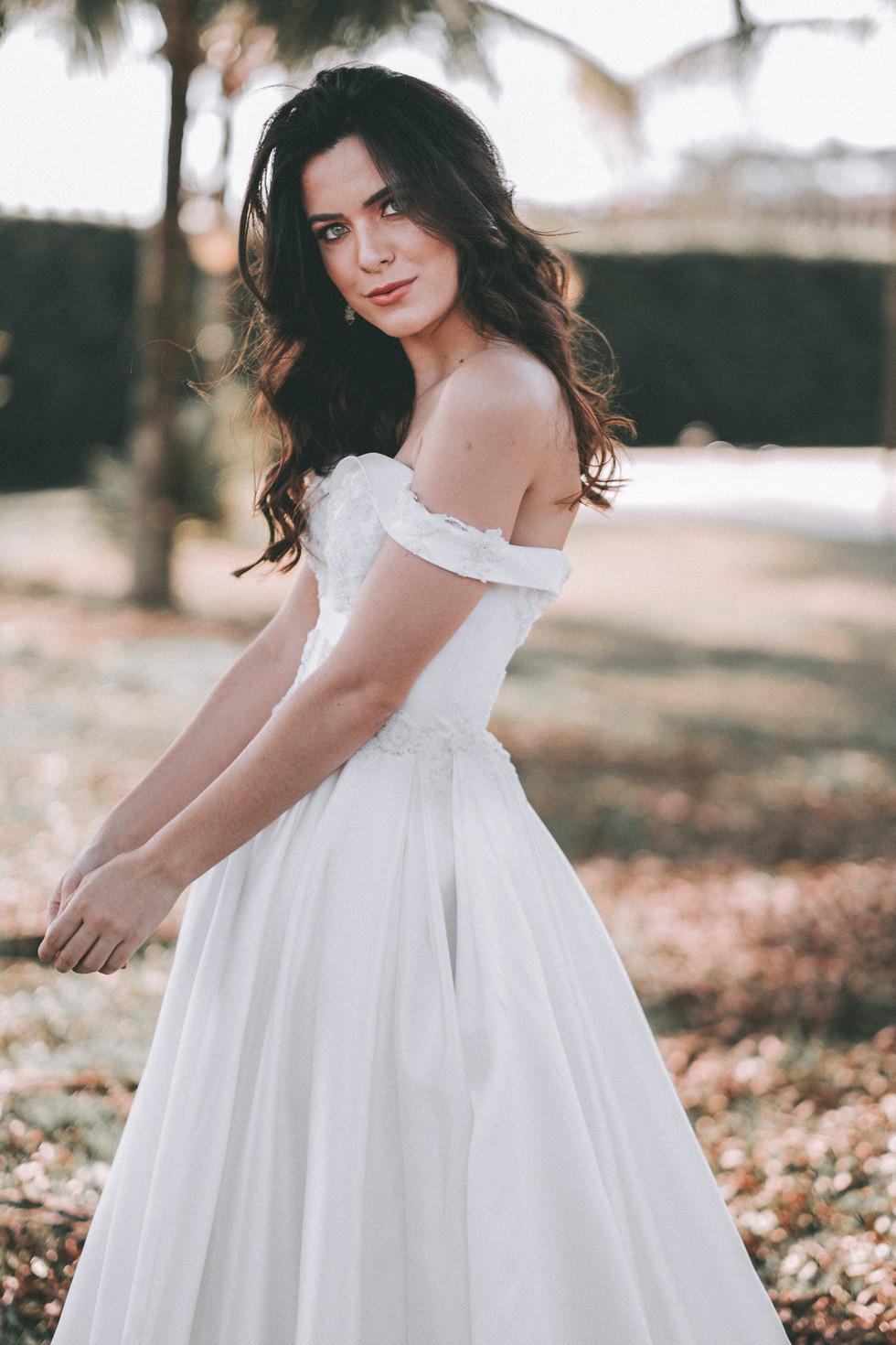 Vestido de noiva londrina