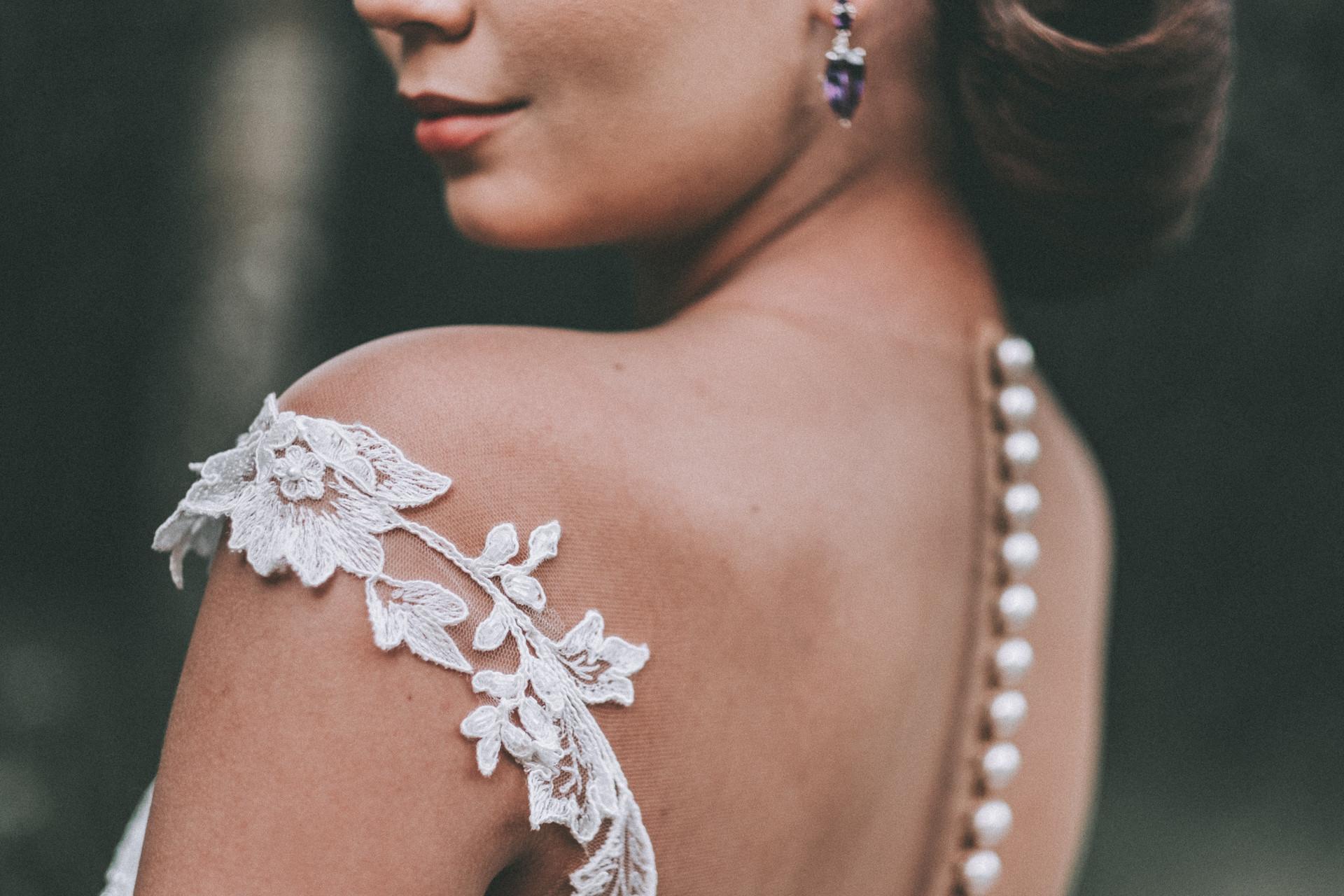 vestido de noiva sem manga