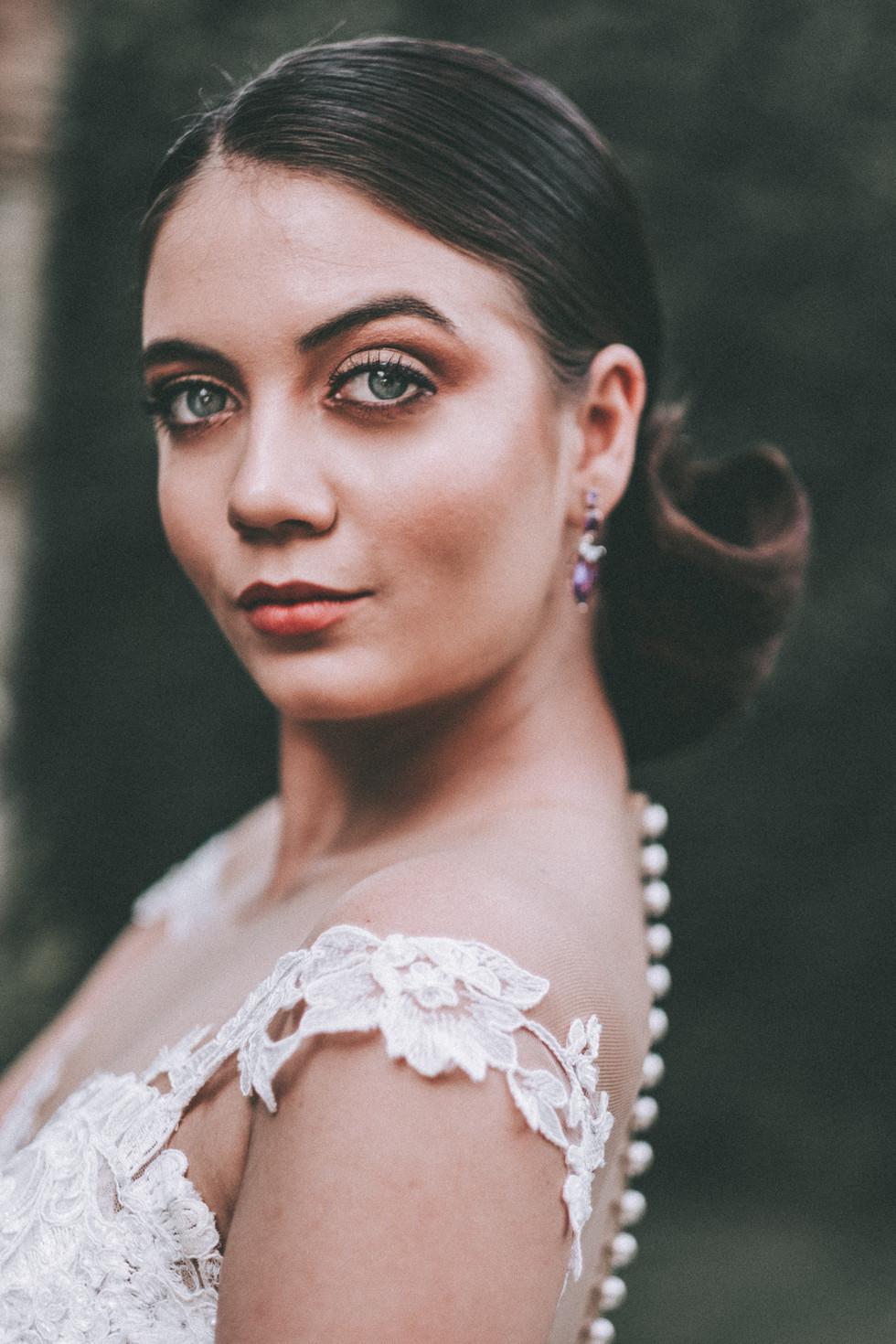 vestido de noiva bordado