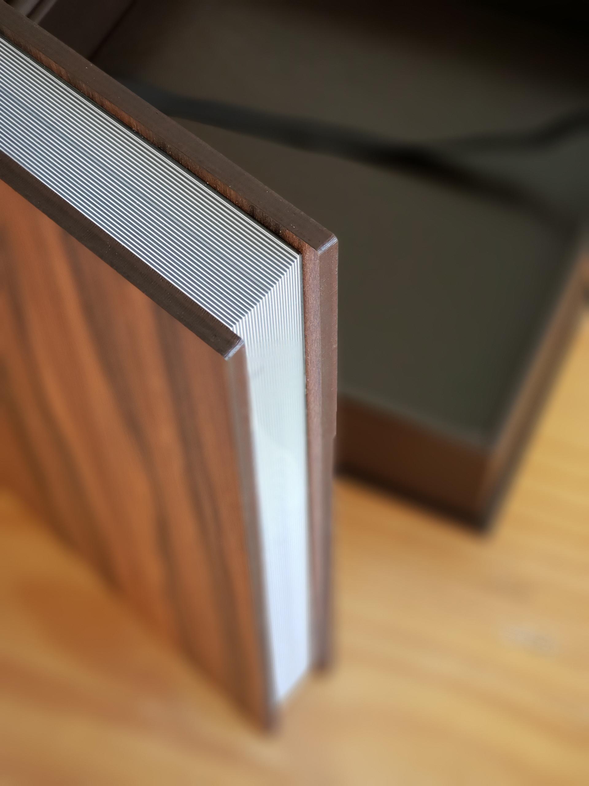Álbum em madeira