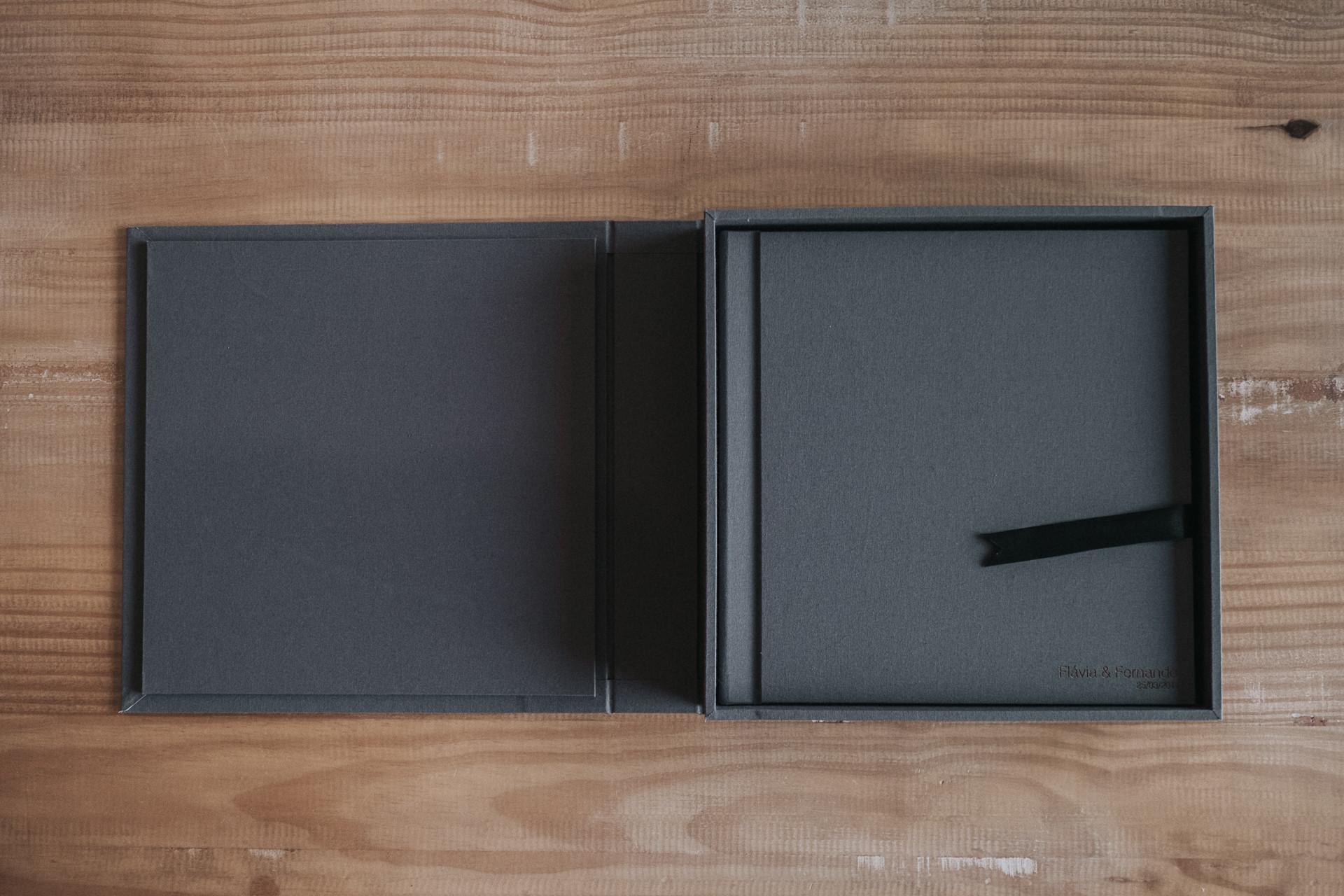 Álbum tecido 30x30cm