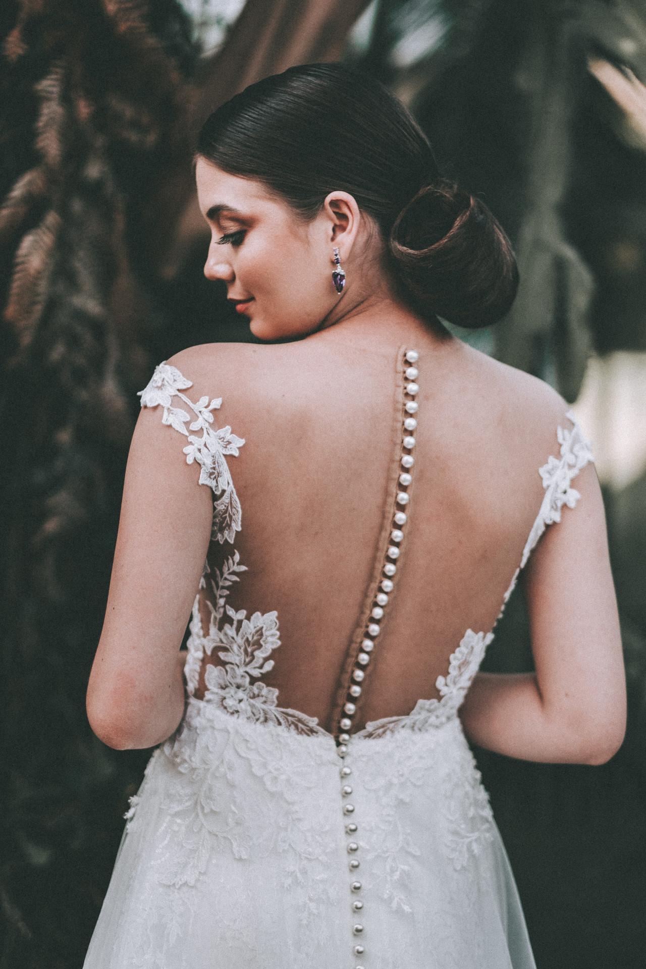 vestido de noiva costas