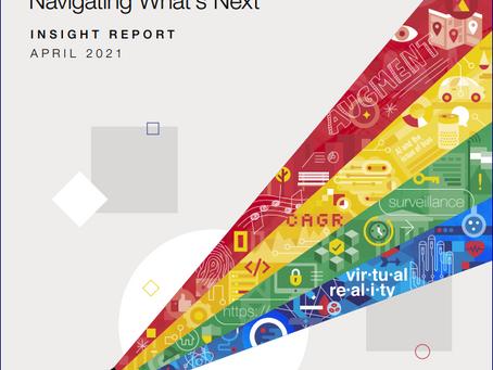 Key Points: World Economic Forum (WEF), April 2021, Technology Futures Report