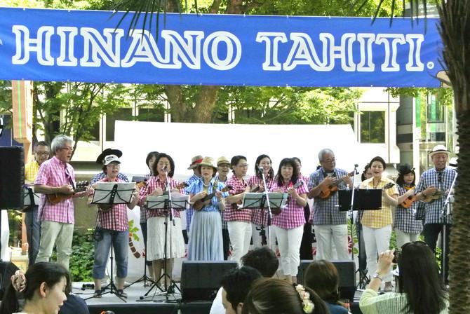 ISLANDチーム オアシス21 ハワイアンフェスティバル
