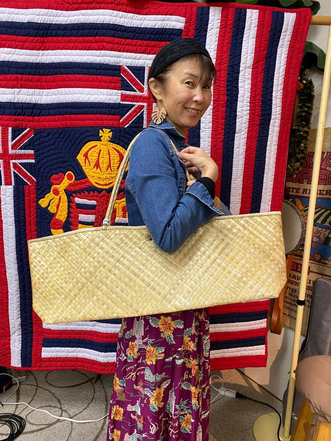 可愛いラウハラ ウクレレバッグがハワイから入荷しました!