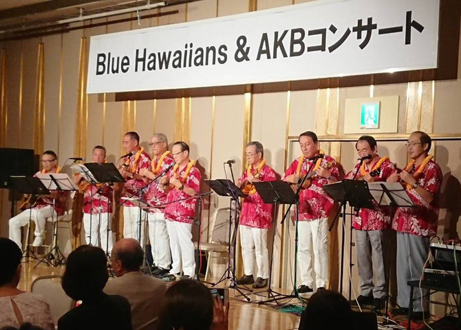 ISLAND LIFEロータリーチームのAKBグループの親睦コンサート開催!
