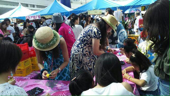 Nagoya HAWAIIAN Feastivalに今年もリボンレイのワークショップが出店します!