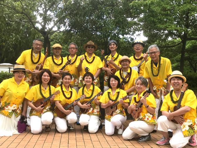 トロピカルガーデンフェアにISLAND LIFEウクレレチームが出演しました!