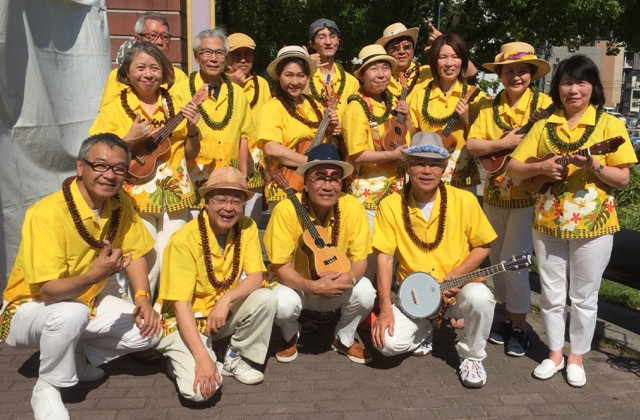 ISLAND LIFE ウクレレチームがHAWAIIAN FESTIVAL に出場しました!
