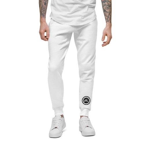 Unisex fleece sweatpants w/DARK LOGO
