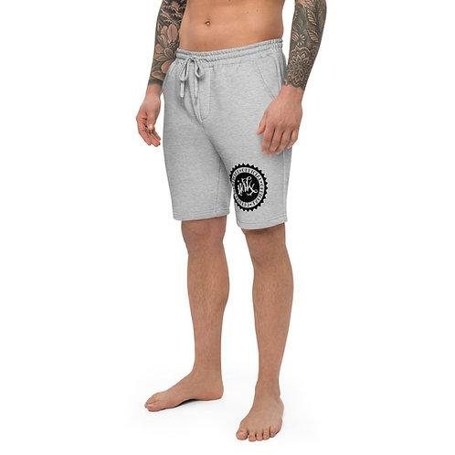 Men's fleece shorts w/DARK LOGO