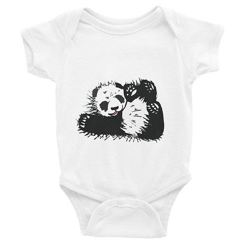 Baby Panda Infant Bodysuit