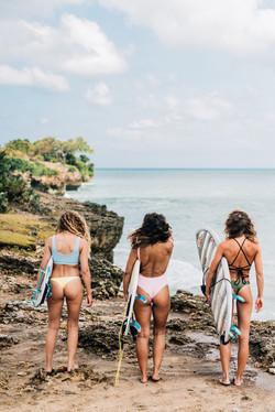 yoga and surf bali