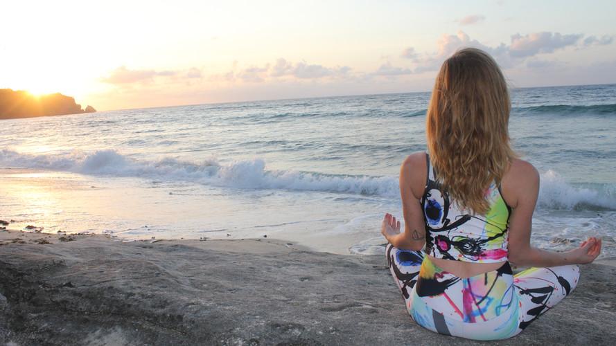 Meditation in Bali