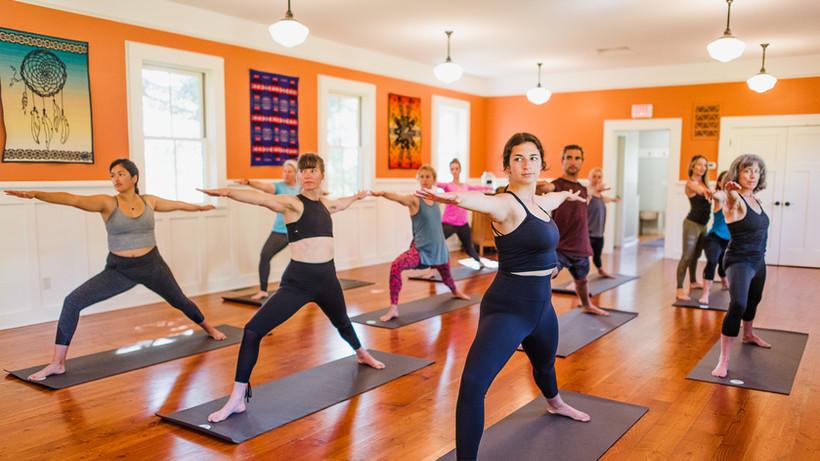 Yoga Class by YogaKoh