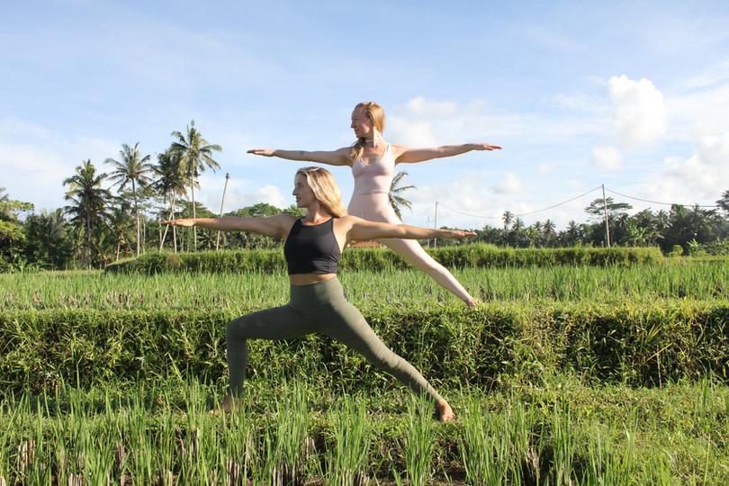 Yoga in Ubud