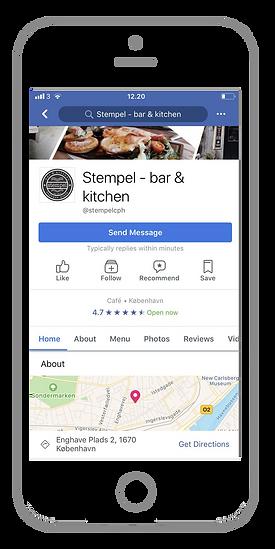 Følg Stempel bar & kitchen på Facebook | Restaurant Vesterbro