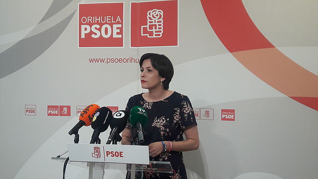 carolina gracia, psoe, Orihuela, moción de censura