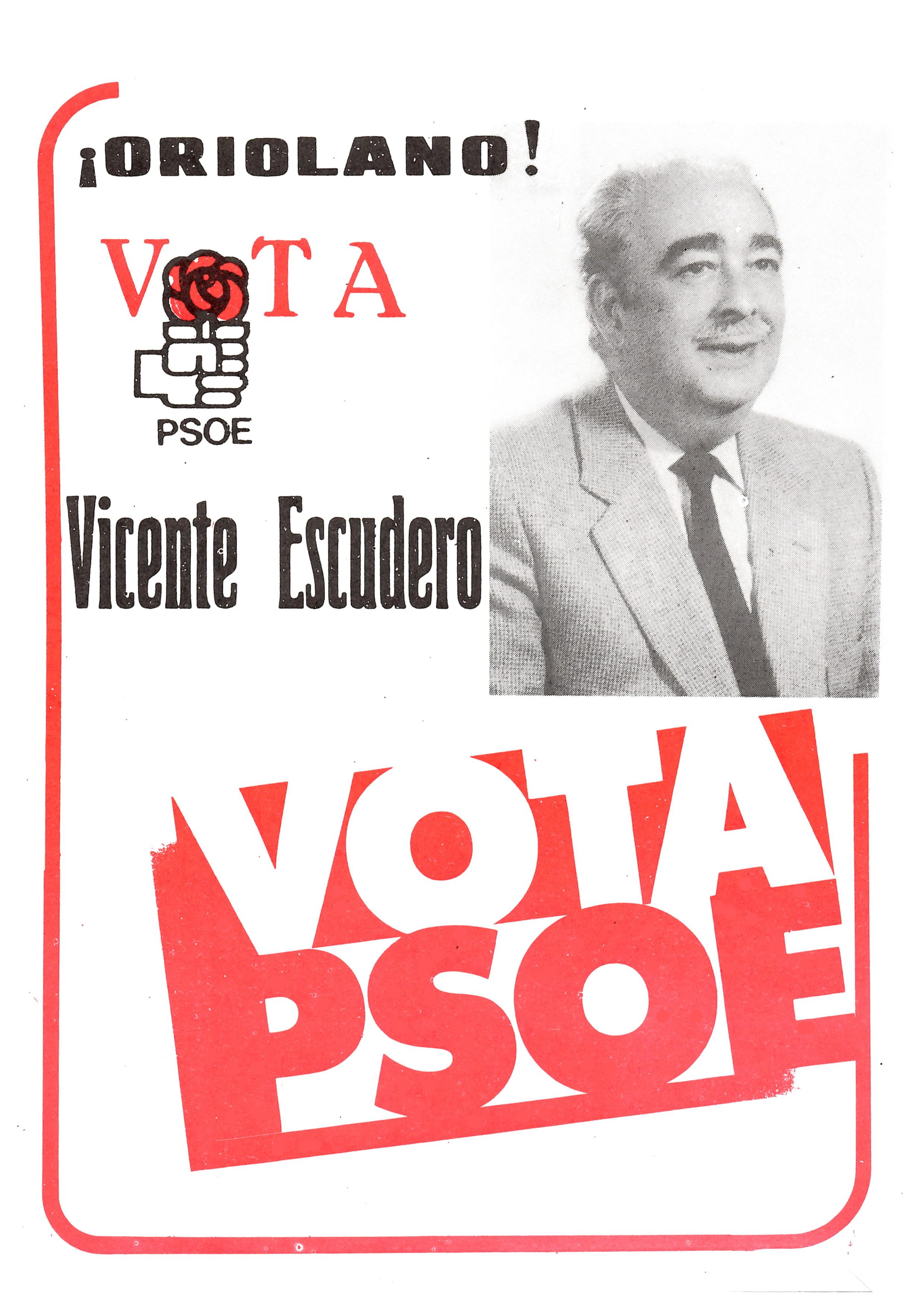 PUBLICIDAD ELECTORAL DE ESCUDERO