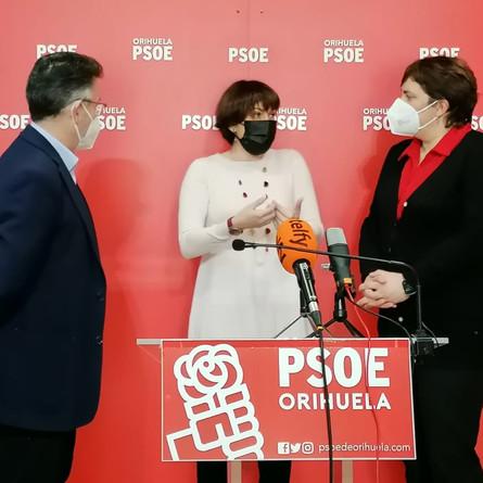 PSPV-PSOE destaca el carácter social de los Presupuestos de 2021, con 154 millones para la Vega Baja