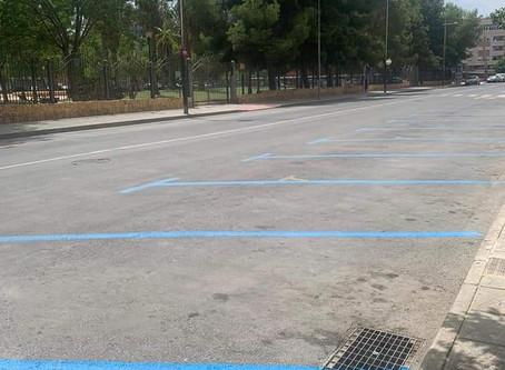 La concejalía de Infraestructuras pretendía ampliar en más de 700 plazas la zona azul en Orihuela