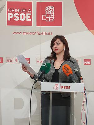 PSOE culpa a Bascuñana de que Orihuela no tenga un nuevo parque de Bomberos