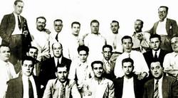 Miembros del PSOE en 1935.