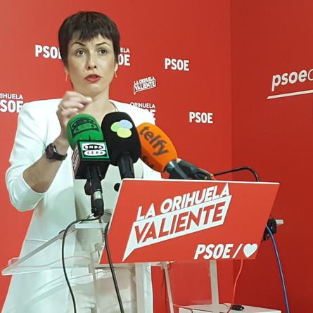 PSOE exige a Bascuñana que licite las obras de Edificant y presente el reajuste por no cumplir los p