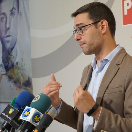 El PSOE pedirá al Pleno la reprobación de Emilio Bascuñana