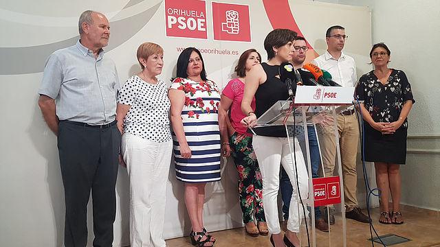 moción de censura, moción censura, Orihuela, psoe, bascuñana, Carolina gracia,