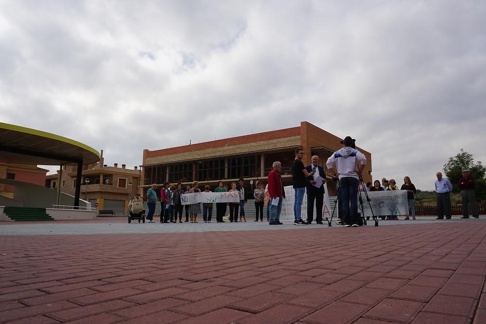 centro cívico, la aparecida, orihuela, josé hernández, pepe hernández, psoe orihuela, obras, construcción, bascuñana, asociación, vecinos