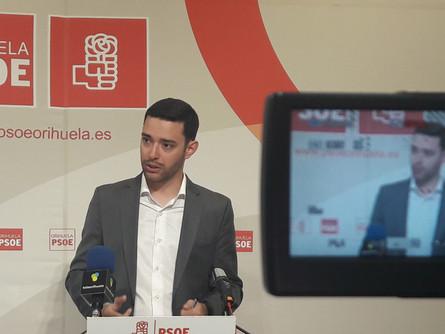 El PSOE acusa al Gobierno de España a Orihuela en los P.G.E. 2017