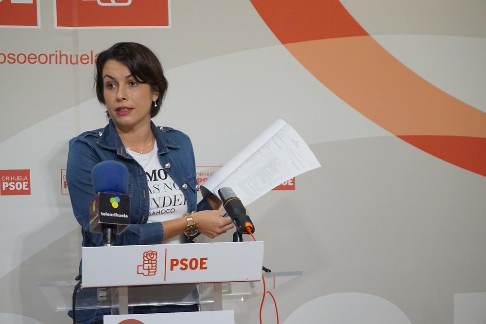 Carolina Gracia, agente, igualdad, PSOE, Orihuela, Ayuntamiento, subvención, consellería