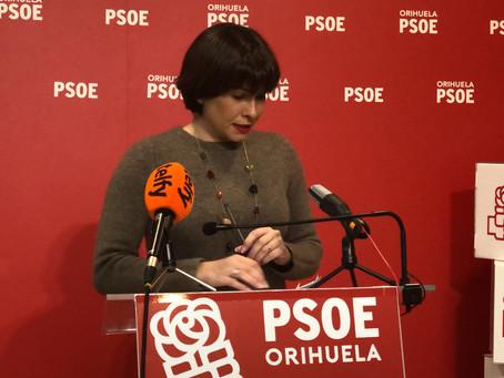 EL PSOE critica que el enfrentamiento de PP Y Ciudadanos provoque un doble gasto a los oriolanos