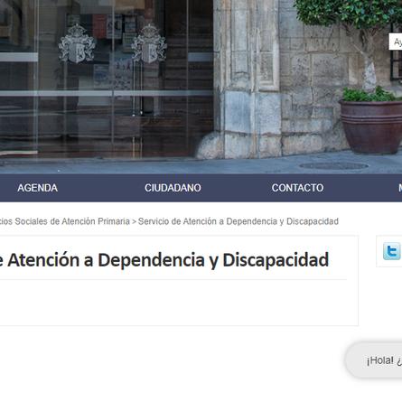 PSOE pide acciones para que Orihuela sea más accesible y amable con la Discapacidad.