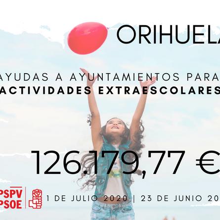 El PSOE pide que la escuela de verano de Orihuela sea gratuita