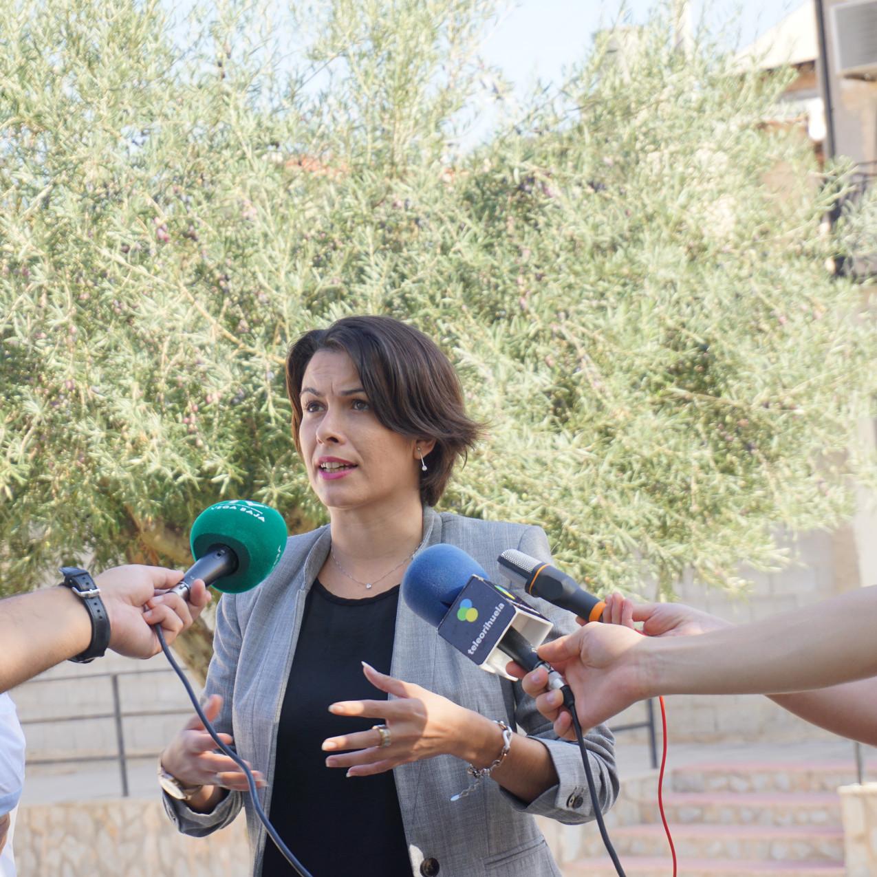 Carolina Gracia, Portavoz del PSOE