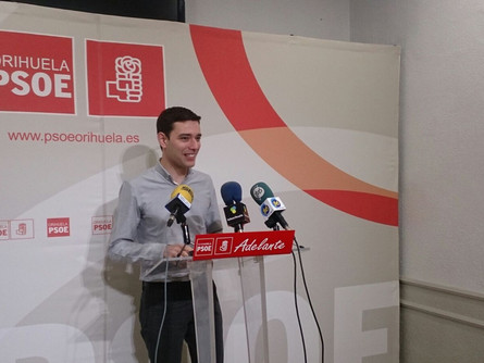El PSOE pacta una modificación del Reglamento del pleno con Ciuddanos y Cambiemos Orihuela.