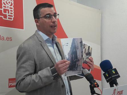 Zapata acusa a Cuartero de usar la Costa para construir mientras destruye el casco histórico.