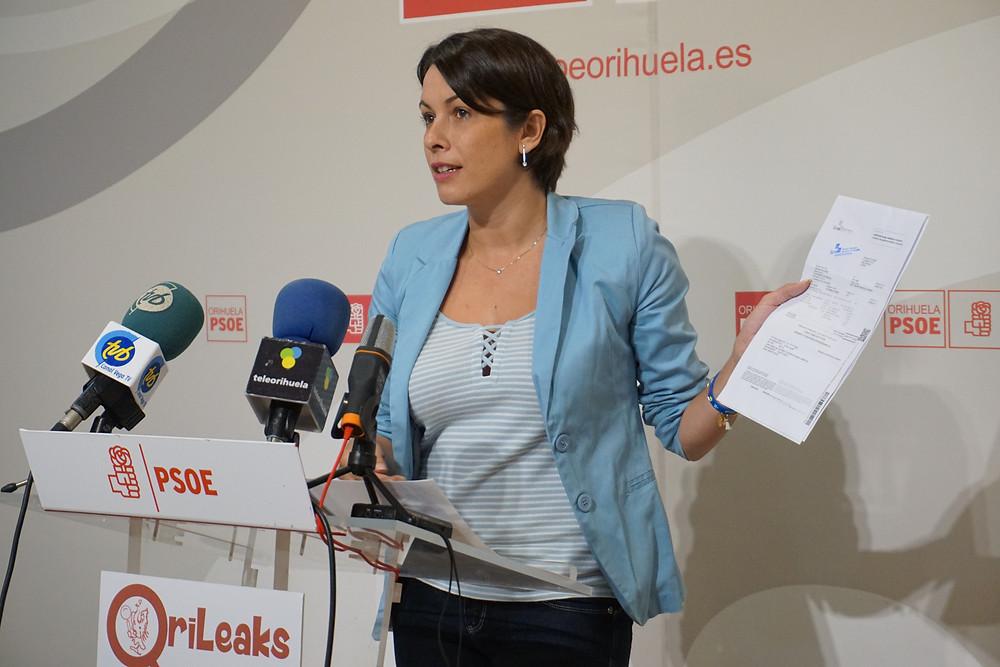carolina gracia, psoe, orihuela, ayuntamiento, IBI, exige, bascuñana, presupuesto, impuestos, recibo