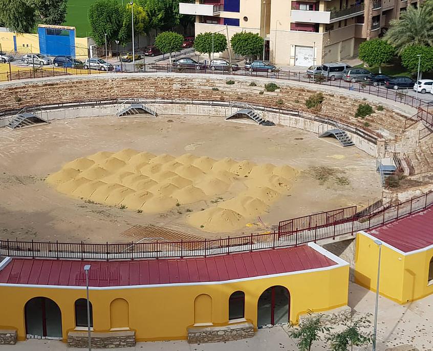 Obras sin finalizar. Plaza de Toros