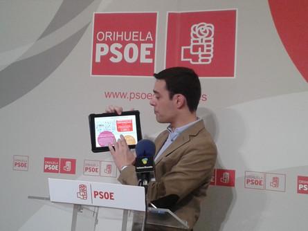 El PSOE presenta uan web para fomentar la participación en la elaboración de los presupuestos.