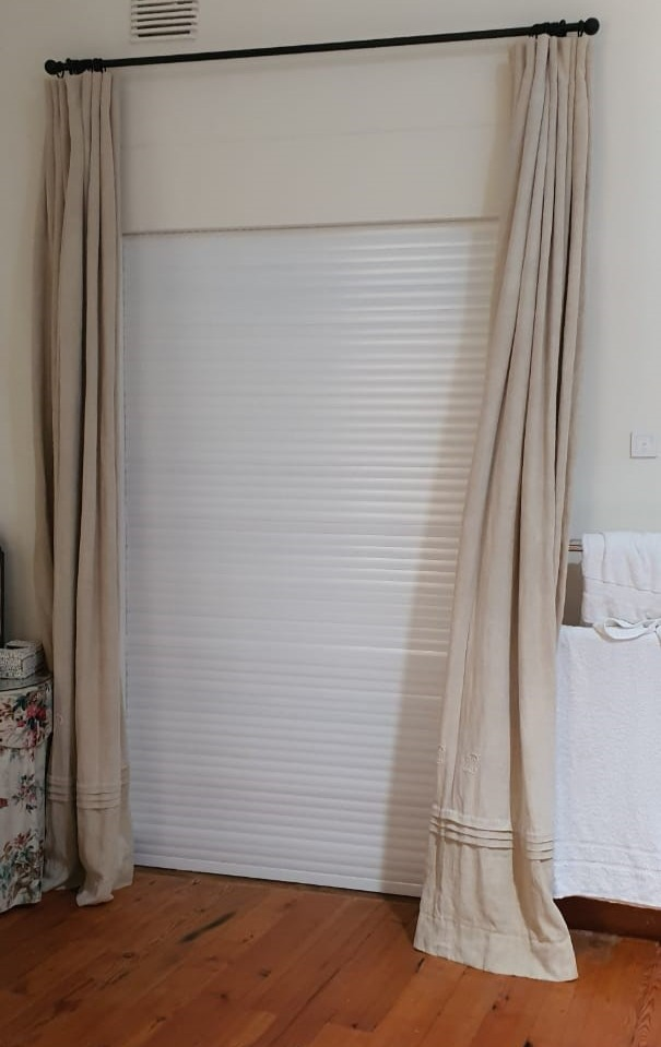 Giving peace of mind when you sleep knowing that your french doors have an added barrier of security